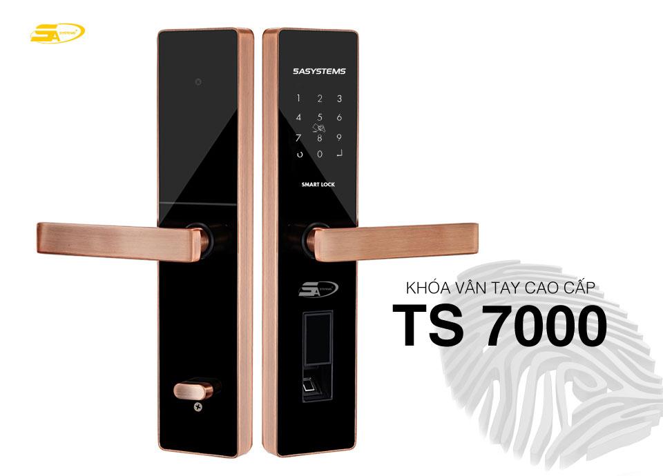 Khóa vân tay TS 7000 tại Đà Nẵng