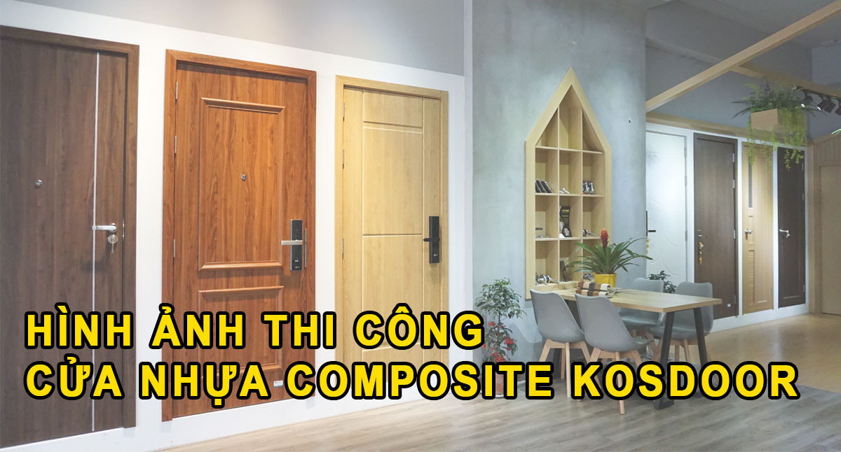 cửa nhựa composite kosdoor